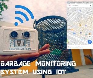 Smart Garbage Monitoring System Using Internet of Things (IOT)