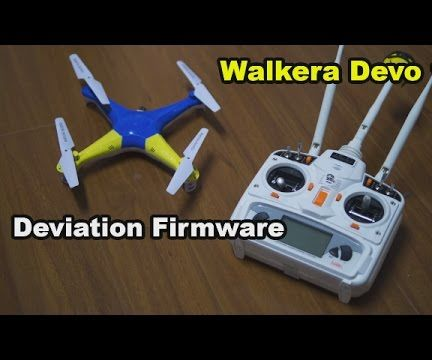 Walkera Devo 10 Radio Transmitter Deviation Mod - Control Everything!