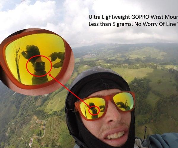 Ultra Lightweight GOPRO Wrist Mount