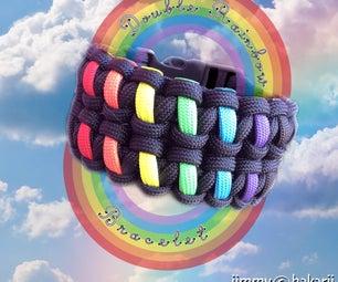 双彩虹手镯