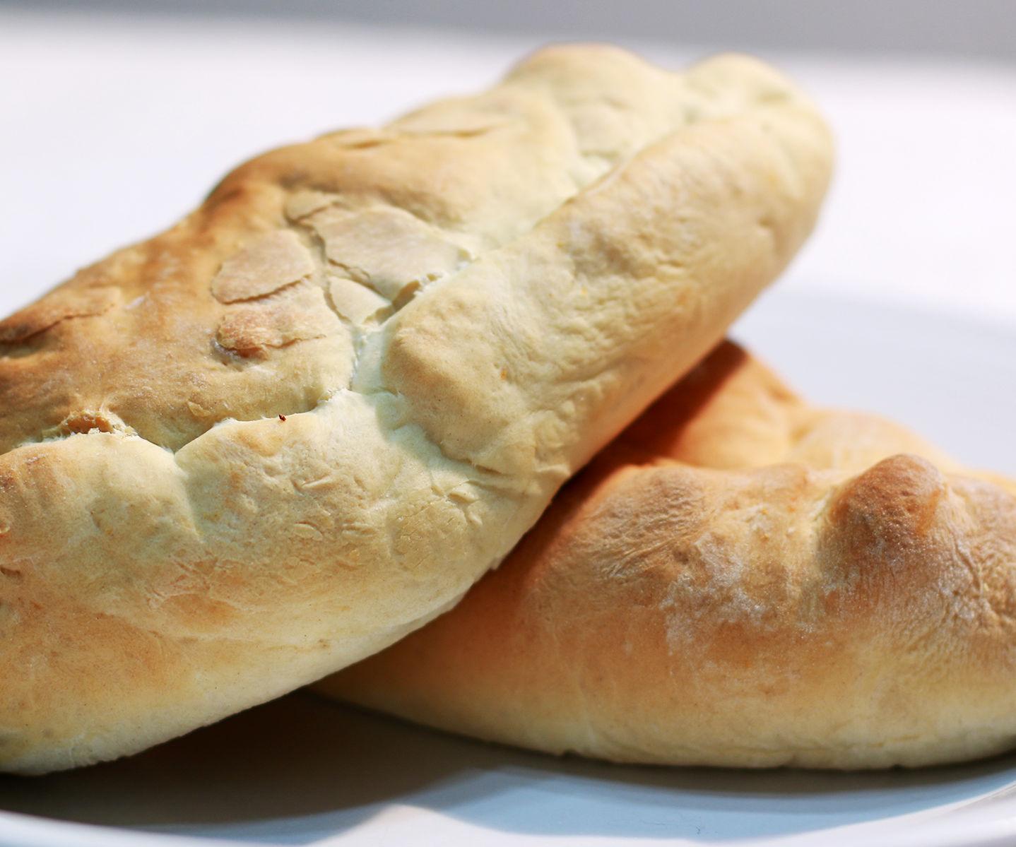 Bread Dough Calzones
