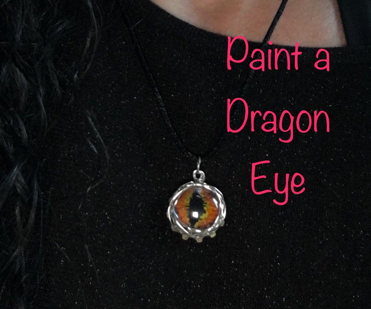 How to Make a Dragon Eye