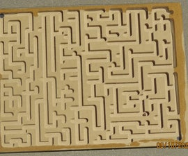 Toy Wood Mazes (with G-codes)