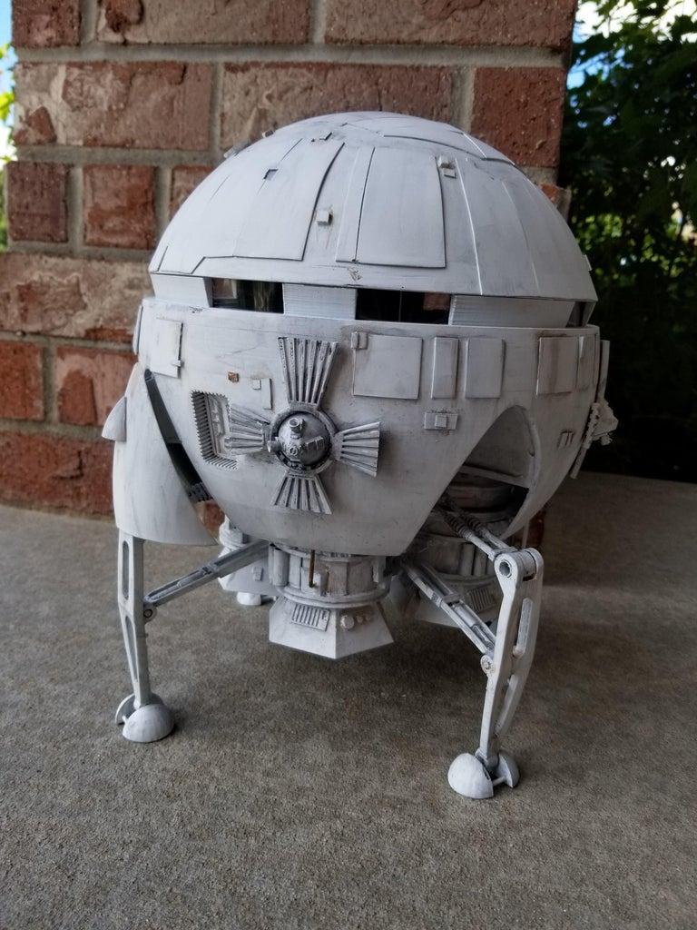 2001 - a Space Odyssey Aries 1B  - Scratch Build