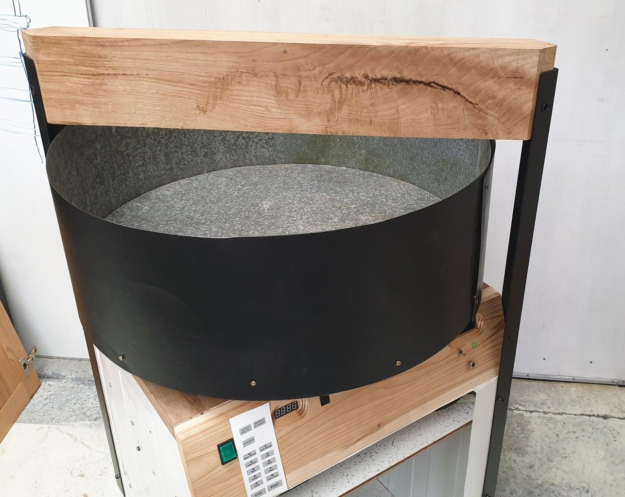 Green Sand Muller #4 - the Over Frame - Assembly