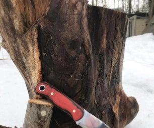 Knife Making Tutorial+Video
