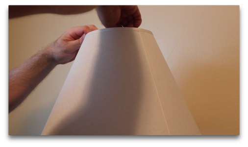 Attaching the Lamp Shade