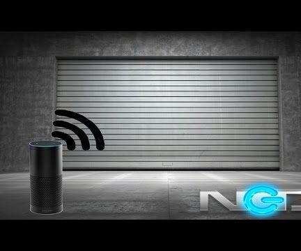 Amazon Echo Activated Garage Door