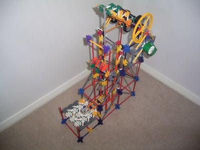 Wheeled Crankshaft Lift