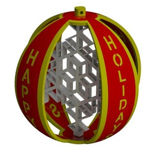 Happy Holidays Ornament Full Assembly (Red and Gold).JPG