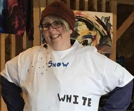 Last Minute Costume - Snow White