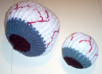 Knitted Eyeball