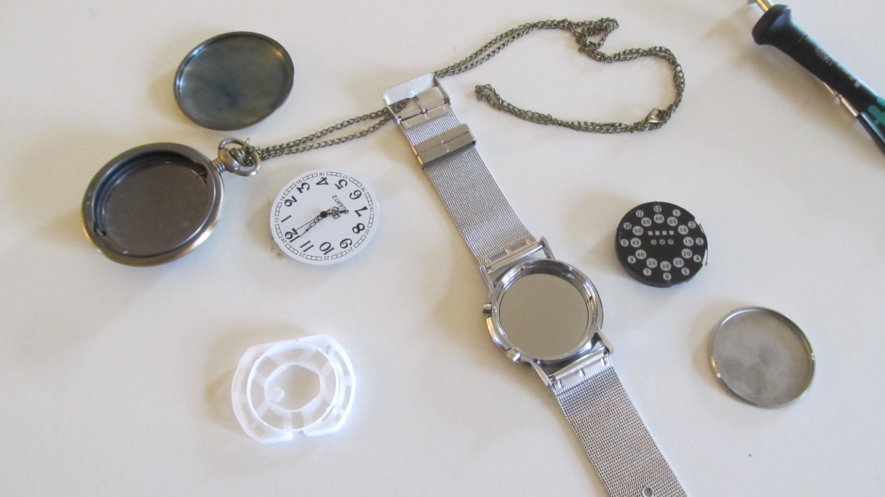 Preparing the Watches