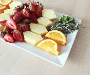 Simple Fruit Plate Design