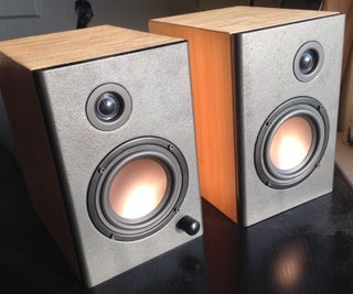 Maple OS Powered Speakers