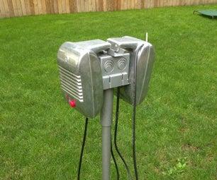 Bluetooth Retro Yard Sound