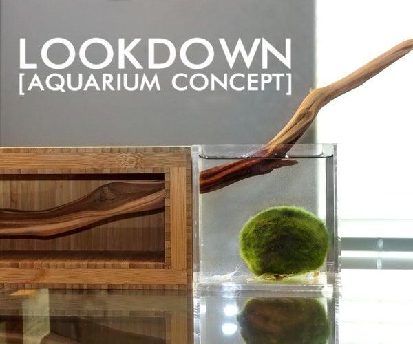 Concept for a Sculptural Aquarium Installation // LOOKDOWN