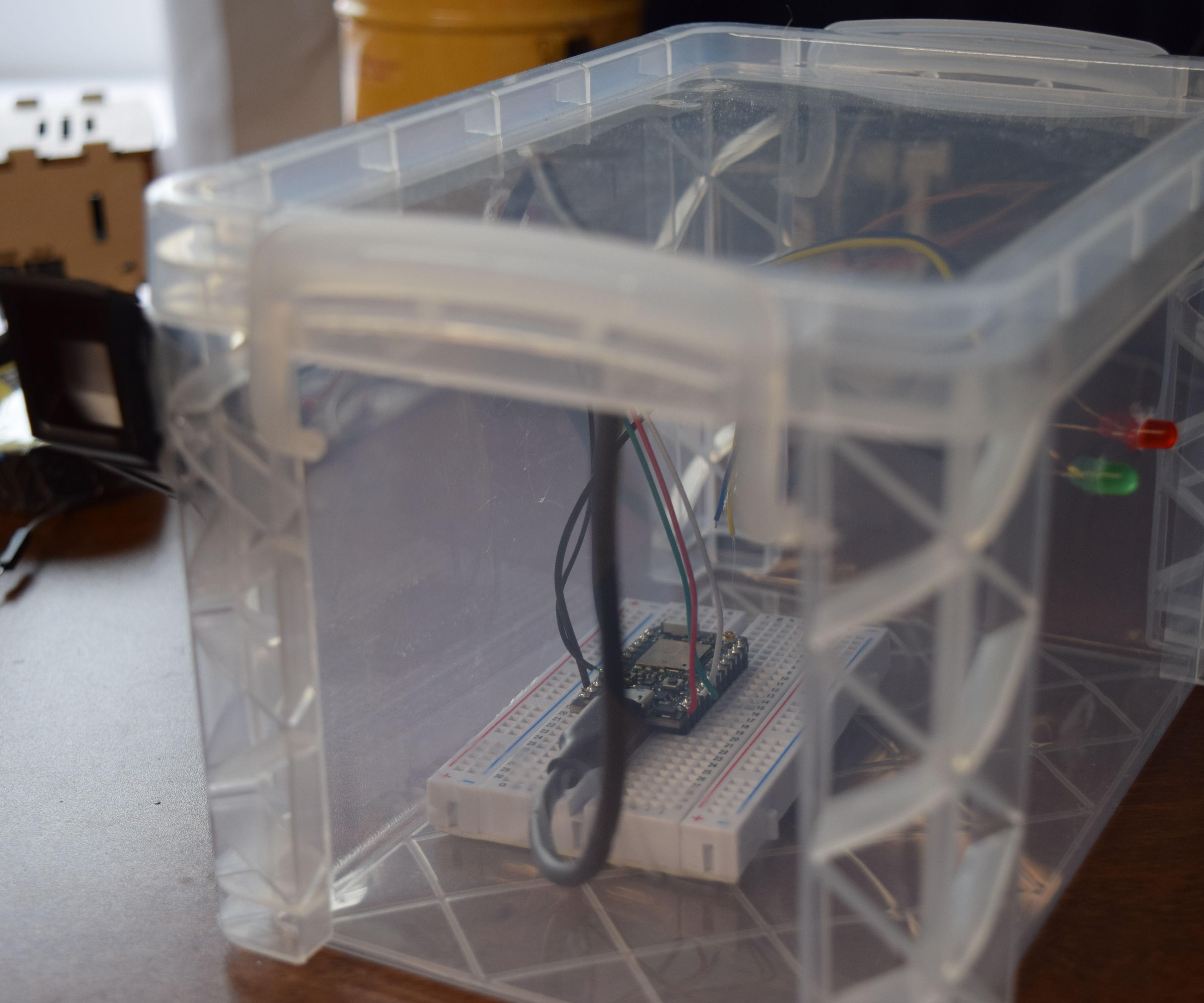 Fingerprint Guarded Box