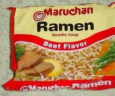 Ramen Noodle Spaghetti