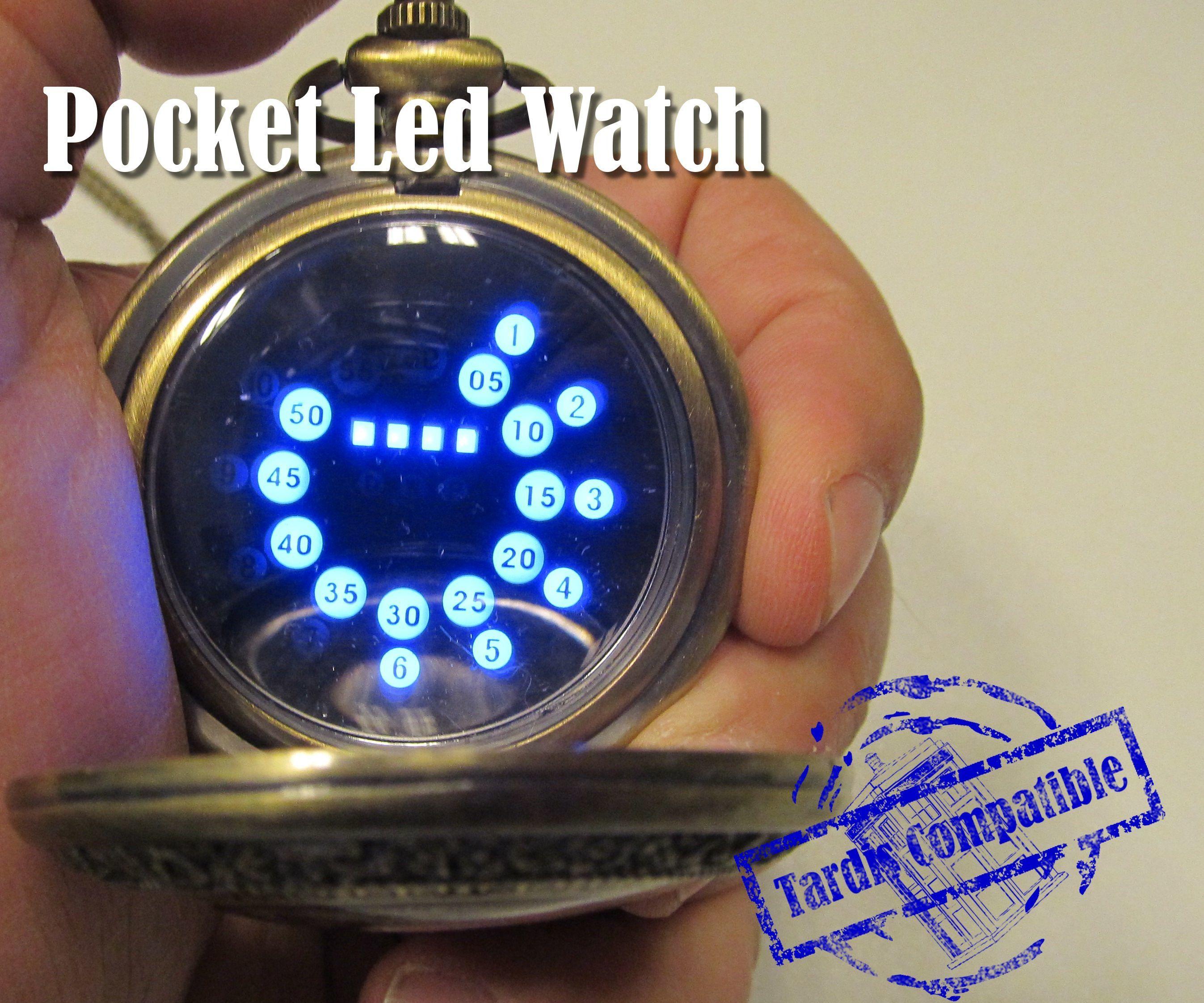 Led Pocket Watch, A Geeky One