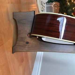 How to Build a DIY Wooden Guitar Stand (Free Template!)