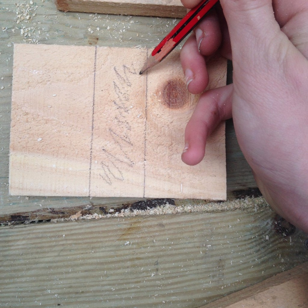 Cutting Out a Place for the Handle