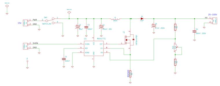 Gel Electrophoresis Power Supply