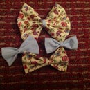 How To Make A Bow Tie Or Hair Bow