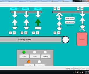 简单的ABB PLC计划 - 学术项目