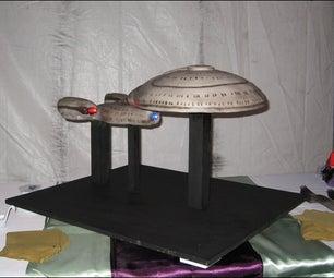 Star Trek TNG Enterprise Cake