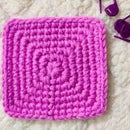 Single Crochet Square Base Pattern for Bags and Baskets
