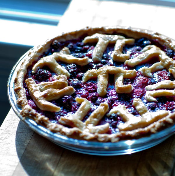 Tri-Berry Pi From the (not-so) Frozen North