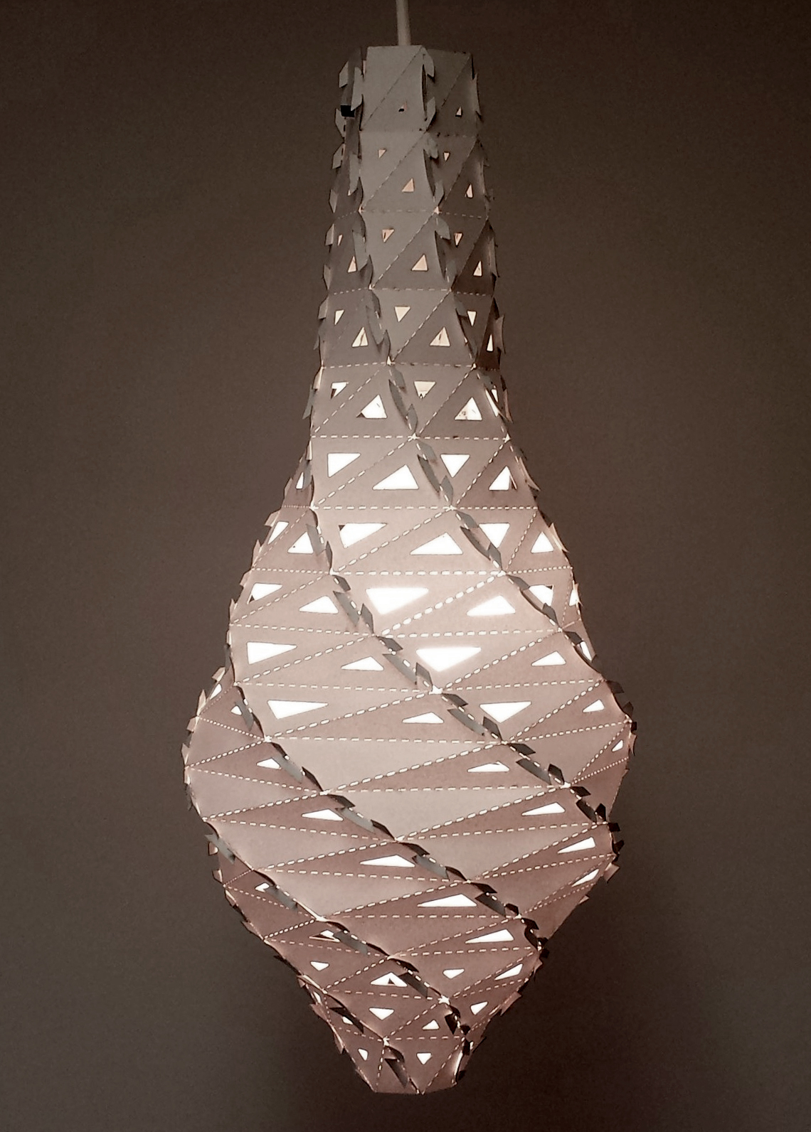 Parametric Twisted Lamp