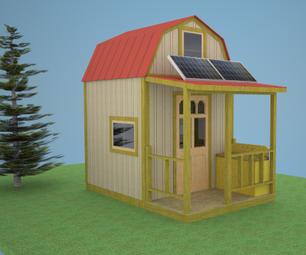 Off-Grid Stealth Cabin Plans