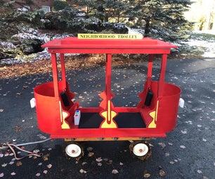 Halloween Daniel Tiger Trolley