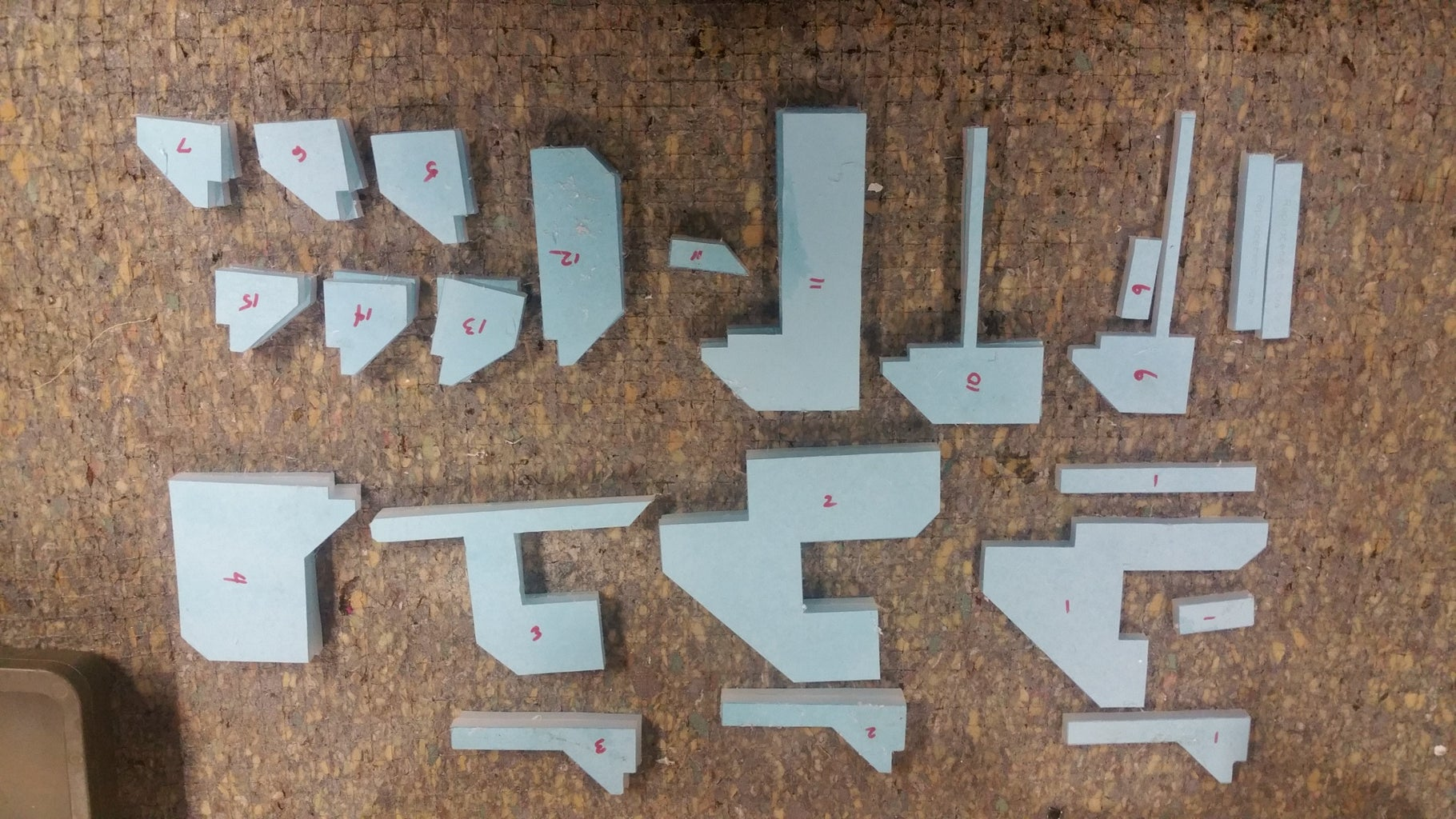 Cutting the Pieces From the Board