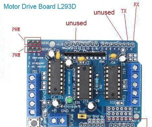 Setting Up Fixed Distance by Board L293D for Arduino