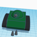 How to Make a Tank in Tinkercad( Super Easy