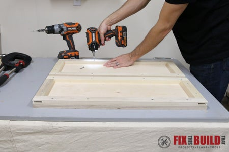 Cut and Assemble the Flip Top