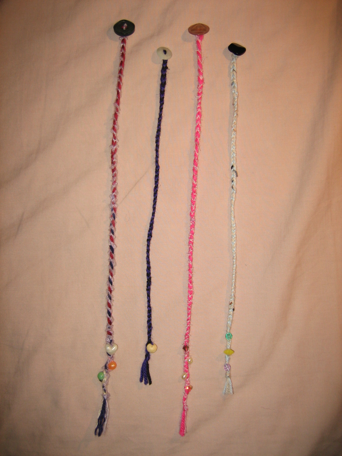 Braided Bookmarkers