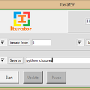 Iterator (Python GUI Application)