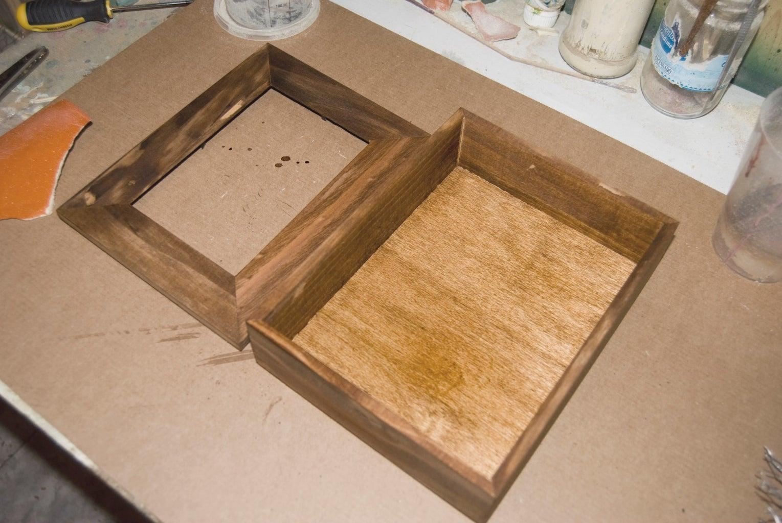 Step 4: Wood Dyeing