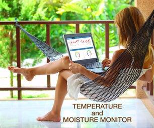 Temperature & Moisture Monitor