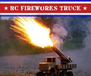 RC Fireworks Truck