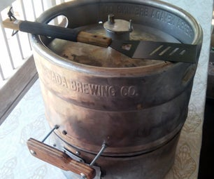 The BeerBQ: a Keg Barbecue