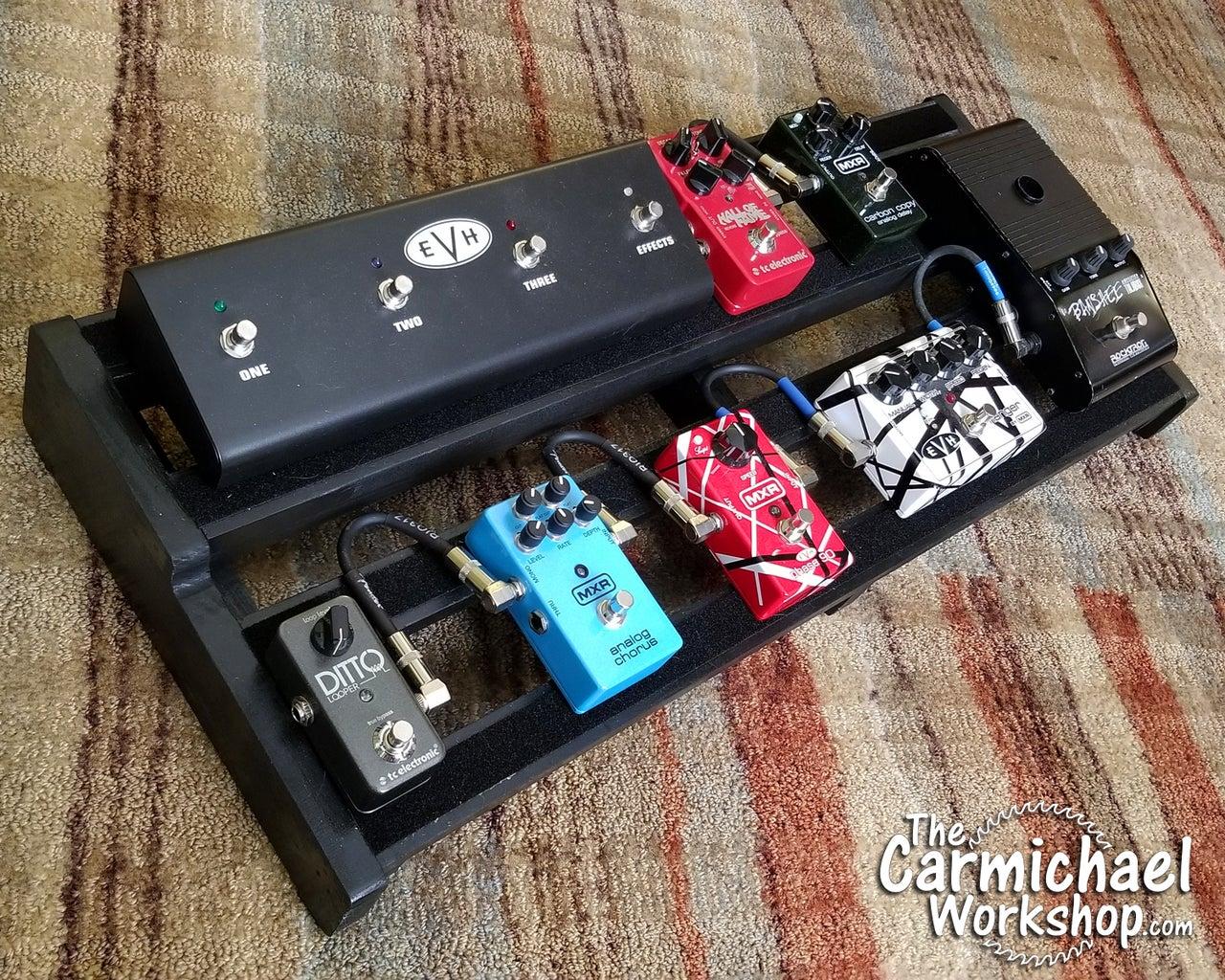 Guitar Effect Pedal Board