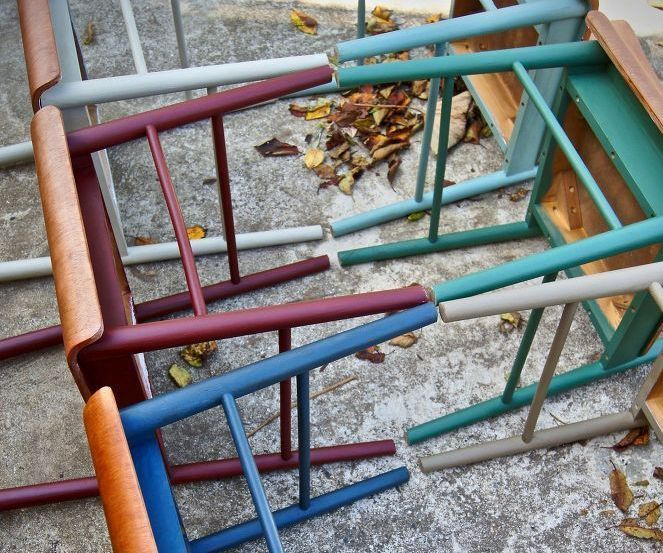 Painted Old Chairs!