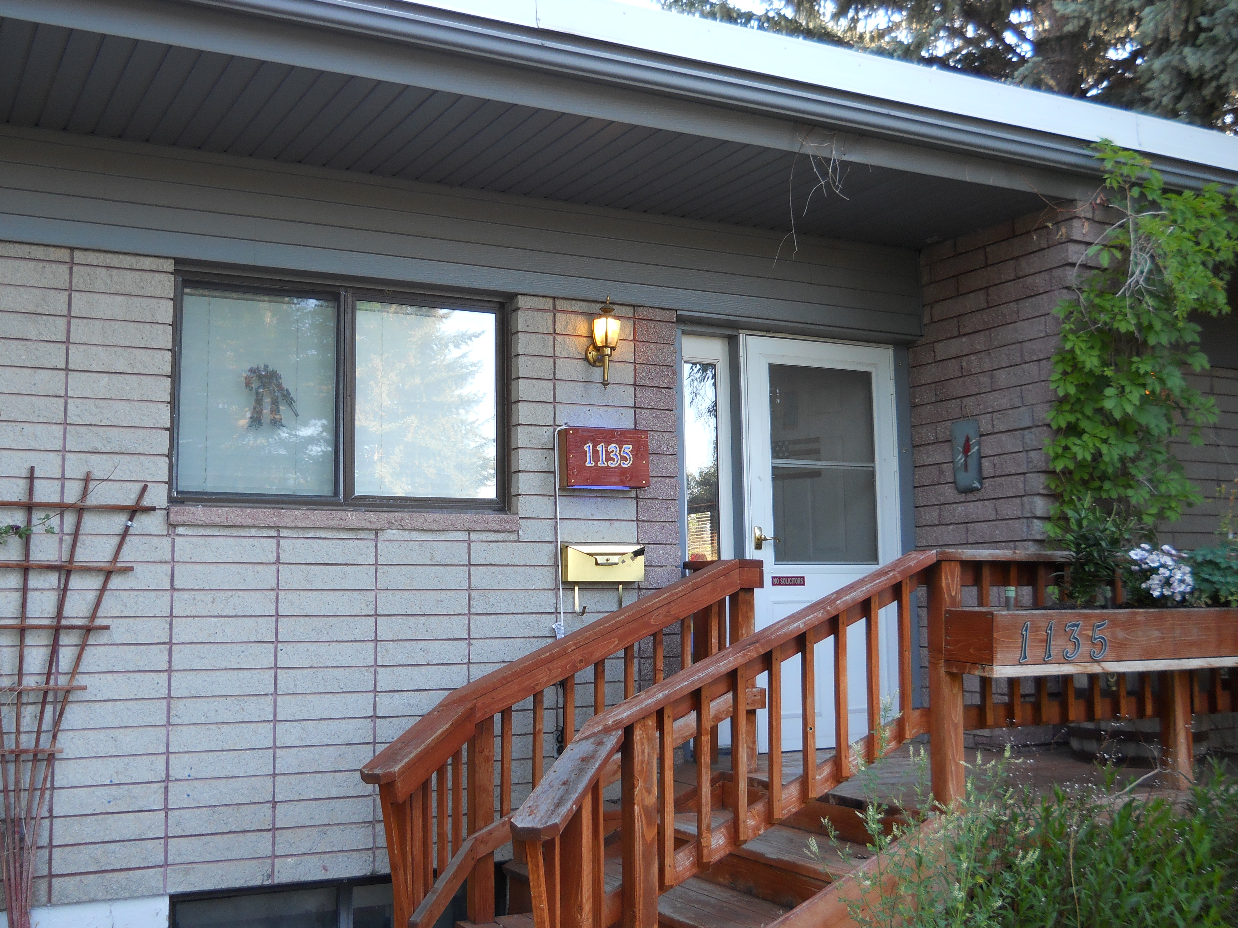 Lighted House Address