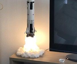 Lampe Fusée Saturn V