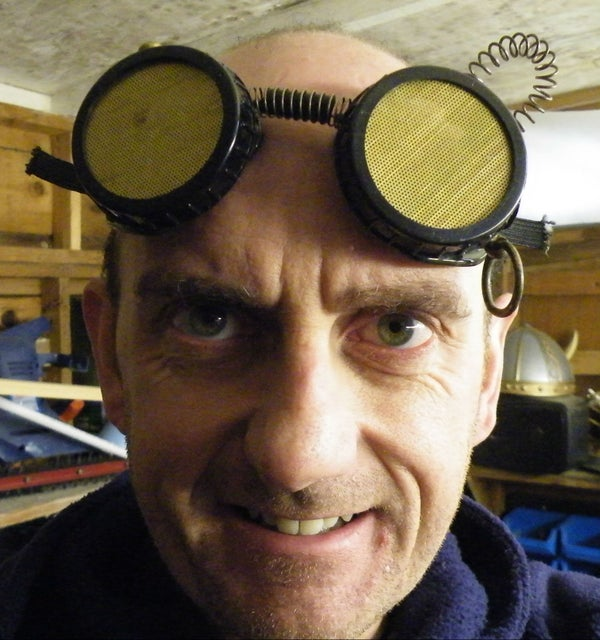Steampunk Safety-Goggles